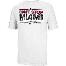 adidas Miami Heat 2013 Division Champions Locker Room T-Shirt