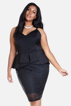 Averie plus size dress