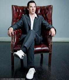 Posh pedigree: Benedict Cumberbatch is a Harrow School alumni and grew up in Londons swanky Kensington