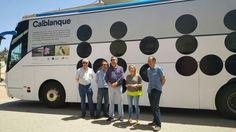 Mañana comienza el servicio de acceso en autobús a las playas de Calblanque a las que se prohibe el acceso en coche hasta septiembre