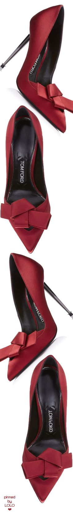 Tom Ford Origami Satin Pump