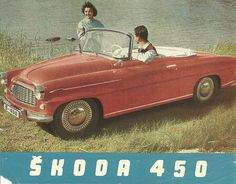 Vintage Trucks, Vintage Ads, Car Brochure, Skoda Fabia, Car Posters, Car Advertising, Old Signs, Car Pictures, Car Pics