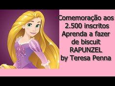 Rapunzel de biscuit - aprenda a fazer