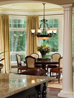 Traditional Dining Room Lighting Design, Pictures, Remodel, Decor and Ideas - page 6