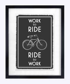 Bicycle Print, Quote Print, Art Print, Bike Poster, Cyclist, Black and White…