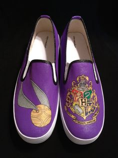 Custom Designed Hand Painted Shoes by TheSoleArtist on Etsy, $70.00