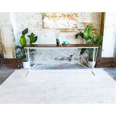 Console Table Console Sofa Table Entryway Table Table Modern Console... ($1,350) ❤ liked on Polyvore featuring home, furniture, tables, accent tables, console tables & cabinets, home & living, living room furniture, silver, white sofa table and white accent table