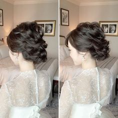 ヘアカラー Bridal Make Up, Wedding Make Up, Bridal Hair, Bride Hairstyles, Beautiful Bride, Hair Inspiration, Wedding Ceremony, Hair Makeup, Hair Beauty