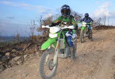 Pattaya Kawaski Dirt Bike   A very cool off road dirt bike adventure tour, right here in