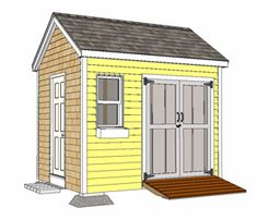 Free Shed Plans and Video from Fine Homebuilding Magazine