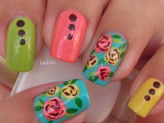 Nail Art - Vintage Chic - Diseño de Uñas