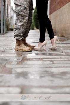 military inspired engagement session by Blue Mason Photography