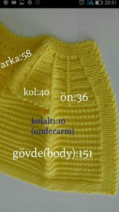 """""""Yellow baby vest,knit baby girl vest, winter trends by likeknitting on Etsy"""", """"This post was discovered by Slm"""", """"Discover thousands of images abo Baby Knitting Patterns, Baby Cardigan Knitting Pattern Free, Baby Boy Knitting, Knit Vest, Knitted Poncho, Knitted Hats, Poncho Patterns, Baby Knits, Baby Patterns"""