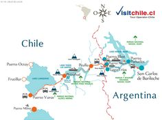 Tour Andean Lakes Crossing Puerto Varas Peulla Bariloche * Chile and Argentina *