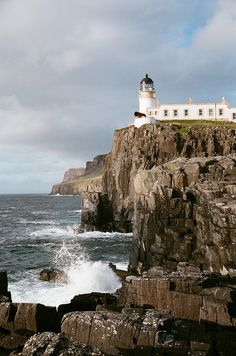 Neist Point lighthouse Isle of Skye, Scotland