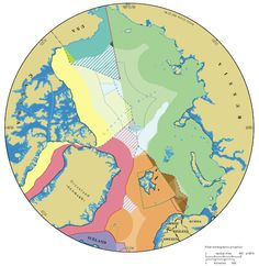 Map of who owns the Arctic https://www.