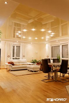 Downlights really create a creative style without diminishing the amount of light in the room. #StandardProducts #lighting #Home