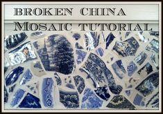 Broken China Mosaic DIY