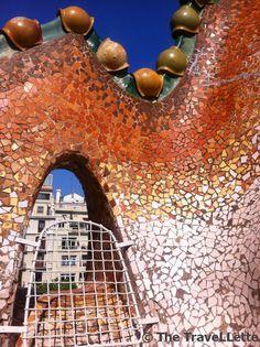 Terrace Casa Batlló, Barcelona