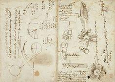 Leonardo da Vinci's Visionary Notebooks Now Online: Browse 570 Digitized Pages https://link.crwd.fr/Ost