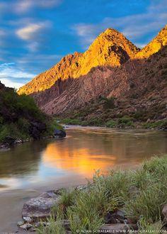 Rio Grande River near Pilar, New Mexico.  Photography Adam Schallau.