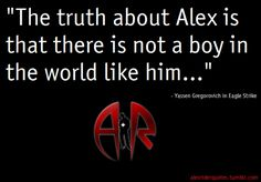Alex Rider Quote