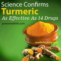 Turmeric ❥➥❥ This sacred plant has revealed over 600 potential #preventive and #therapeutic applications...