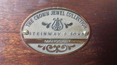 2001 Steinway L Heirloom Collection - Keith & Julie Grover.  Love the Steinway customization and handmade quality...