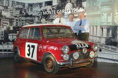 Paddy Hopkirk, Rauno Aaltonen and Timo Mäkinen! Monte Carlo Minis: Classic Motorsports