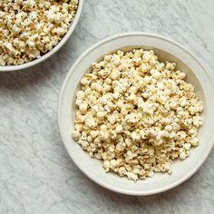 Mexican Corn Popcorn Recipe  -  Jen Pelka   Food & Wine