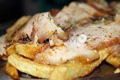 Jamón asado con patatas fritas | Restaurante Taberna O Pontillón en Vigo