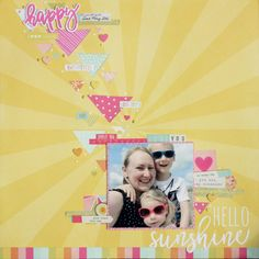 Jen Naulls for Hey Little Magpie Simple Stories Sunshine and Happiness