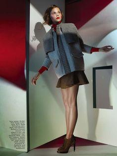 FLARE MAGAZINE:   Fashion styling: Alon Freeman, Judy Inc/  Hair: Eduardo Mella, Judy Inc