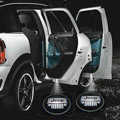 Jeep Wrangler Grille Logo LED Jeep Laser Projectors