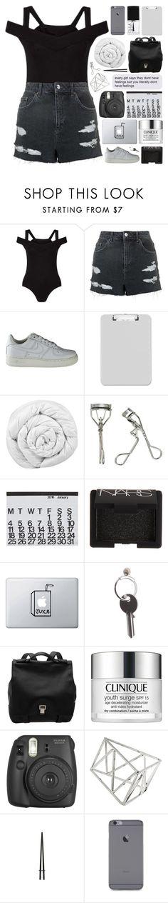 """""""i wanna love ya / tag"""" by other-flying ❤ liked on Polyvore featuring Miss Selfridge, Topshop, NIKE, Sparco, Brinkhaus, Japonesque, Crate and Barrel, NARS Cosmetics, Maison Margiela and Proenza Schouler"""