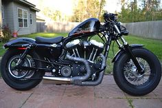 My after one year - Harley Davidson Forums Sportster 48, Custom Sportster, Harley Davidson Forum, Forty Eight, Iron 883, Custom Bikes, Bobber, Old School