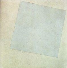 Suprématisme : Malevitch - carre_blanc_sur_fond_blanc_1918