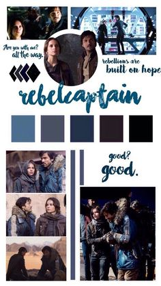 Jyn and Cassian   Star Wars   Rogue One   RebelCaptain tumblr