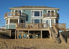 Spectacular ocean views from every room of this bright and beautifully renovated OBX home away from home. Fabulous open living areas, beautiful and well appointed kitchen, comfortable bedrooms – including two master suites with balconies, hot tub and screened porch for nighttime gatherings, decks and views and waves galore! You will fall in love with Katmantoo! Serving up the family vacation you will remember for years to come... KATMANTOO! is waiting for you.