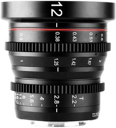 New Meike manual focus cinema lens for Micro Four Thirds cameras announced - Photo Rumors Cinema Camera, Camera Lens, Wide Aperture, Sony E Mount, Prime Lens, Photo Equipment, Photography Gear, Poker Online, Wide Angle Lens