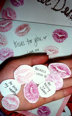 Love note kisses!