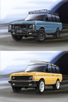 If you could choose your Range Rover Classic theme......