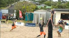 Melissa Ruru (Tūhoe)fascination with beach volleyball began when she was young.  In the Open Men's section, Tame Malcolm's team challenged the visitors from America, Will Montgomery and Tri Bourne in an exciting game for both sides.  But in the end, the NZ team failed to get a spot in the semi-finals.  But the most exciting game of the day was Paora Morunga (Ngāiterangi) and Griffin Muller (Tūhoe) fighting it out against Tom Hartles and Jesse Hawkins.  Morunga won the secondary schools vo