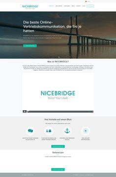 Dürfen wir vorstellen: NICEBRIDGE! Welche Funktionen und Vorteile das innovative Webtool für die optimierte Vertriebskommunikation von Unternehmen bietet? Das erfahrt ihr zum Beispiel sehr informativ und unterhaltsam in unserem Video: http://www.nicebridge.de/#video