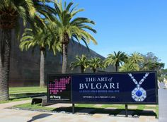 DeYoung Museum Exhibits....The art of Bvlgari 1950-1990..for beginning culture vultures !!