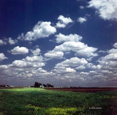 Larry Kanfer has a fantastic way of portraying the prairies. Always love his clouds too!