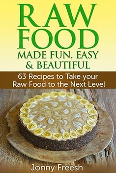 """Raw Food Made Fun, Easy  Beautiful -  Jonny Freesh: """"This is not just another rawfood recipe book. This is my passion laid out for you to feast upon and a powerful tool for both newcomers to raw food and experienced foodies looking for something new. Everything is inspired by the ambiance and delicacy of Bali-a world renowned haven for the rawfood movement."""" Jonny Freesh http://www.pinterest.com/rawfoodbali is member of Vegan Community Board…"""