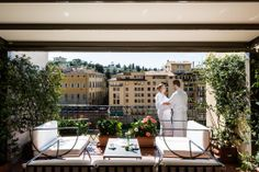 Enjoy on our beautiful roof terrace bar. Here you can also enjoy a light lunch, snacks and relax to a good Chianti wine.
