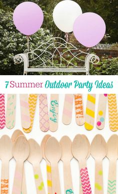 Giant Balloons and other  Summer Outdoor Party Ideas you may not have thought about!