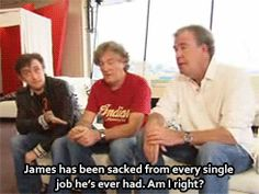 Poor James #TopGear